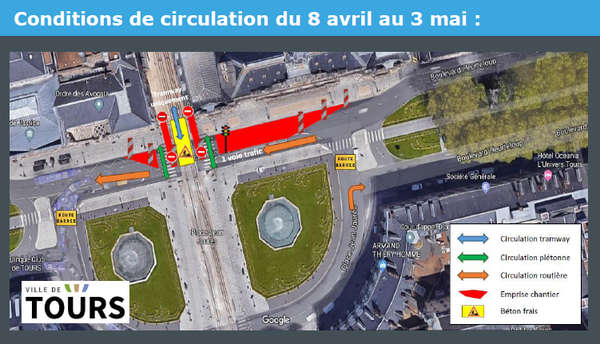 travaux place jj avril 2019